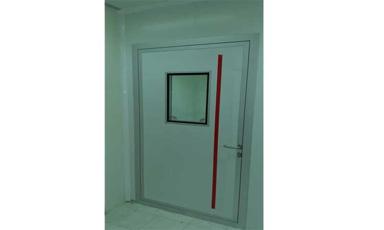 درب مخصوص اتاق تمیز تجهیزات پزشکی