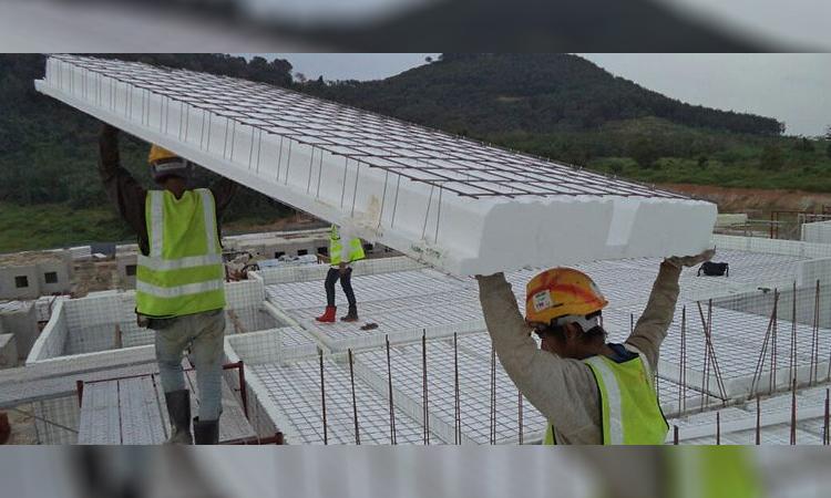 نصب تری دی پنل در سازه