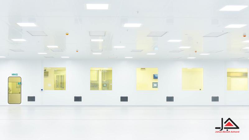 روشنایی اتاق تمیز و توضیحات