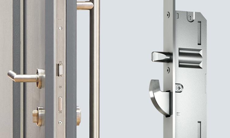 تصویر قفل درب دو لنگه
