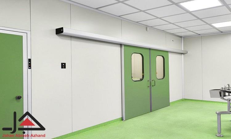 درب کلین روم تولید شده از جدیدترین تکنولوژی ساخت اتاق تمیز